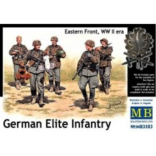 German Elite Infantry Eastern Front, WW II 1/35