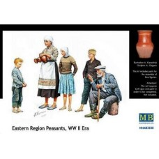 Eastern Region Peasants WW II Era 1/35