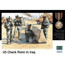 US Check Point in Iraq 1/35