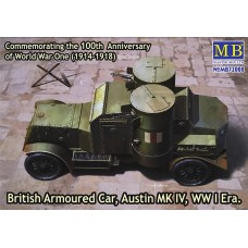 British Armoured Car Austin Mk.IV WW I Era 1/72