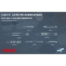 U.S. Satellite-Guided Bombs 1/48