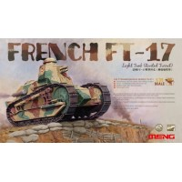 French FT-17 Light Tank (Riveted turret) 1/35