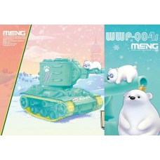 World-War Toons KV-2 with Ice Bear Figures