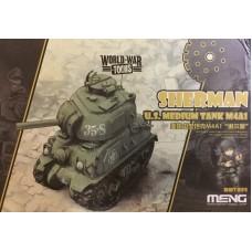 World War Toons Sherman U.S. Medium Tank M4A1