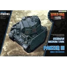 World War Toons Panzer III German Medium Tank