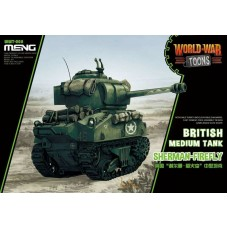 World War Toons Sherman-Firefly British Medium Tank