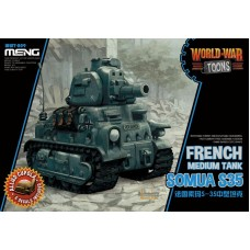 World War Toons Somua S35 French Medium Tank