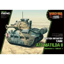 World War Toons A12 Matilda II British Infantry Tank