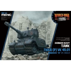World War Toons Tiger (P) VK 45.01 German Heavy Tank