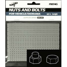 Nuts and Bolts SET A Large 1.8mm to 2.6mm 1/35