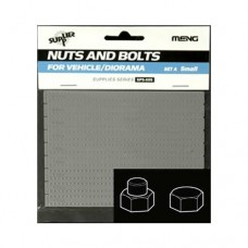 Nuts and Bolts SET A Small 0.8mm to 1.4mm 1/35