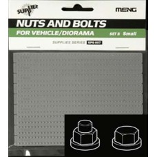 Nuts and Bolts SET B Small  0.8mm to 1.4mm with washers 1/35