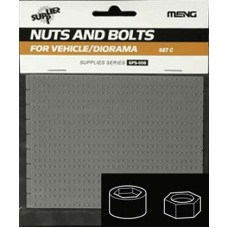 Nuts and Bolts SET C 1.3mm to 1.7mm Bolts and Allen Head style Bolts 1/35