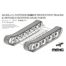 Panther Early Production Tracks & Moveable Running Gear Parts