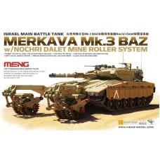 Merkava Mk.3 BAZ w/Nochrich Dalet Mine Roller System 1/35