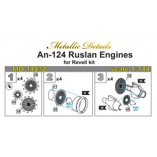 1/144 Detailing set for An-124 Ruslan, Engines