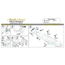 1/144 Detailing set for DHC-8-106 Dash 8