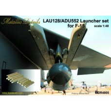 1/48 LAU-128/ADU-552 Launcher set for F-15