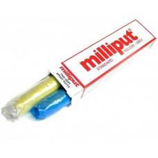 Milliput Standard Yellow-Grey Epoxy Putty (2x 56g)