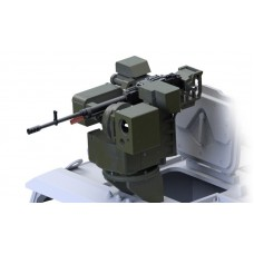 Remote Controlled Weapon Station with KORD 12.7mm for КамАZ/Typhoon-K 1/35