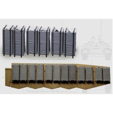 4S24 soft case ERA for T-72B3, BMPT, T-90MS (12+12 pcs) 1/35