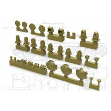 Correct set for turret T-34/76 1/35