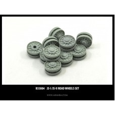 JS-I/JS-II Road wheels for Dragon, Zvezda kit 1/35