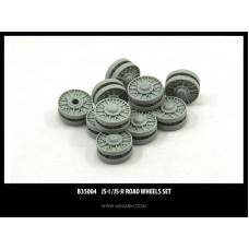 JS-I/JS-II Road wheels for Dragon, Zvezda kit 1/35