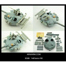 T-64B Turret m 1981, includes PE parts for Trumpeter kit 1/35
