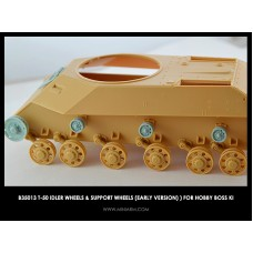 T-50 Idler wheels & support wheels (early version) for Hobby Boss kit 1/35