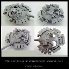 Turret T-72B m1989, includes PE parts for Trumpeter, Meng kit 1/35