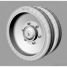 BMP-3 Road Wheels set for Trumpeter kit 1/35