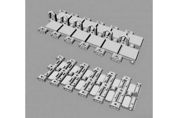 BMP-3 Workable tracks set plus extra & two types of drive sprockets for Trumpeter kit 1/35