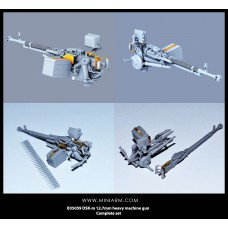 DSK-m 12,7mm heavy machine gun Complete set 1/35