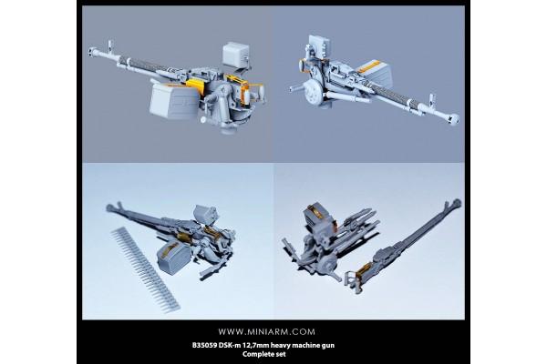 DSK-m 12,7mm heavy machine gun Complete set 1/35