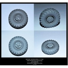 BRDM-1 Road wheels set, 4pcs  for EE kit 1/35