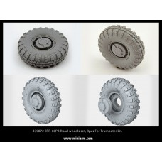BTR-60PB Road wheels set, 8pcs For Trumpeter kit. 1/35