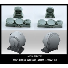 L-4G Infra-red searchlight for T-55, T-55AM, T-62M, Modern Russian Armor 1/35