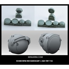 L-2GM Infra-red searchlight for T-72A, Modern Russian Armor 1/35