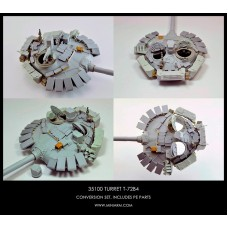 T-72B4 m2014 Turret, includes PE parts for Trumpeter, Meng, Zvezda kits 1/35