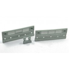 Grills for Kamaz, 2 pcs + filters for headlight + mask, 1/35