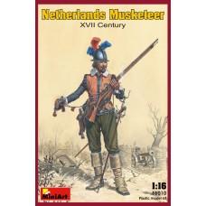 Netherlands Musketeer XVII Century 1/16