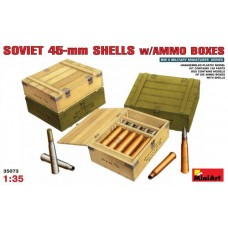 Soviet 45-mm Shells w/ Ammo Boxes 1/35