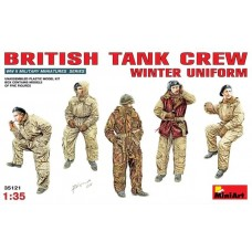 British Tank Crew Winter Uniform 1/35