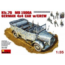 Kfz.70 MB 1500A German 4x4 Car with Crew 1/35