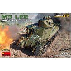 M3 Lee Early Production INTERIOR KIT 1/35