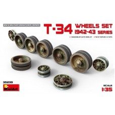 T-34 Wheels set 1942-43 series 1/35