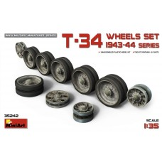T-34 Wheels set 1943-44 series 1/35