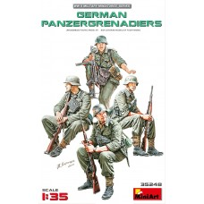 German Panzergrenadiers 1/35