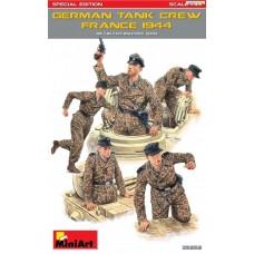 German Tank Crew (France 1944) Special Edition 1/35